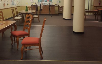 Community Room at Patten Towers in Chattanooga