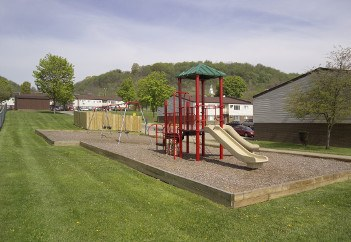Playground at Heritage Place in Steubenville,OH