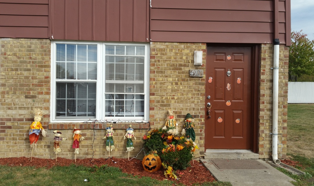 Exterior view of a building at Meadowlark in Trotwood, OH