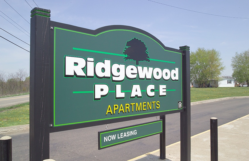 Ridgewood Place Apartments in Wintersville is situated in a nice neighborhood.