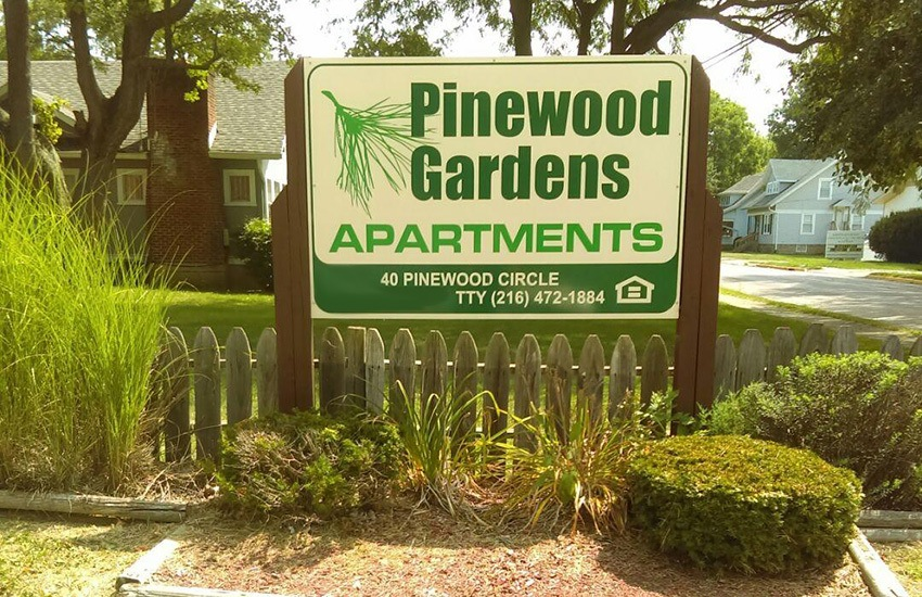 Pinewood Gardens Apartments in Trotwood is situated in a nice neighborhood.