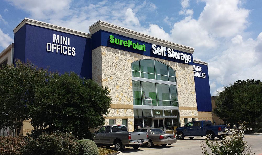 SurePoint Self Storage - FM 3009 exterior