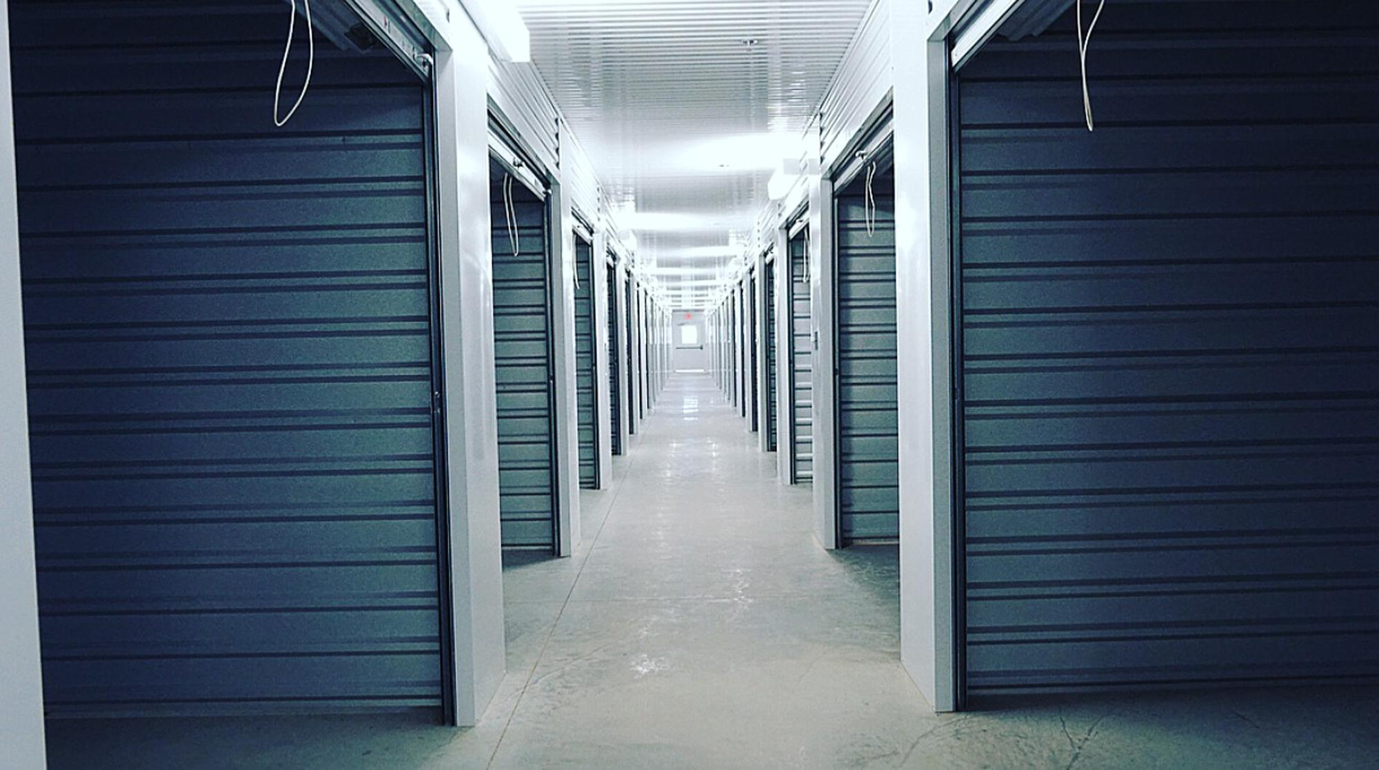 Unit sizes and prices at the self storage facility in Richmond