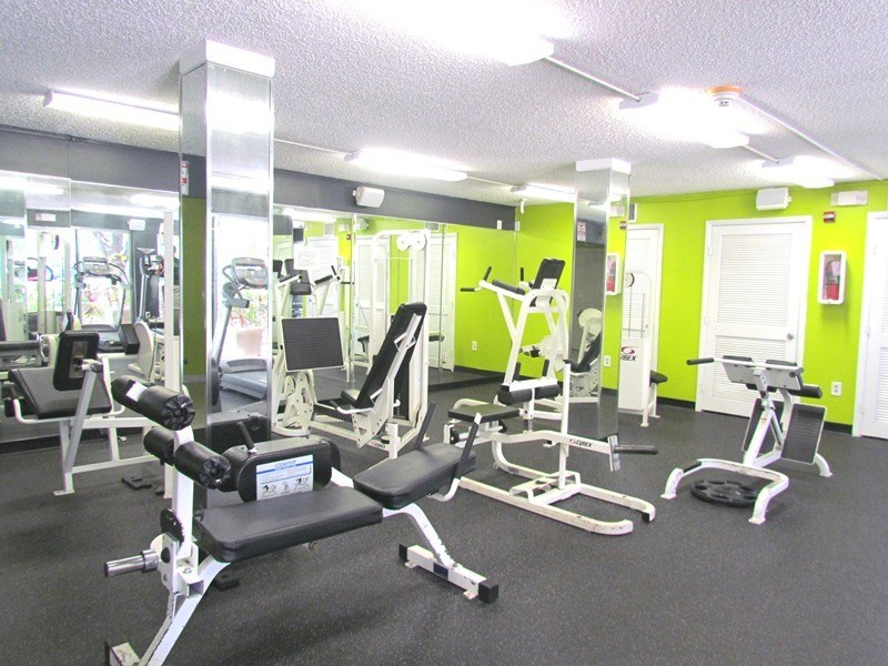 fitness center at Portofino at Biscayne in North Miami