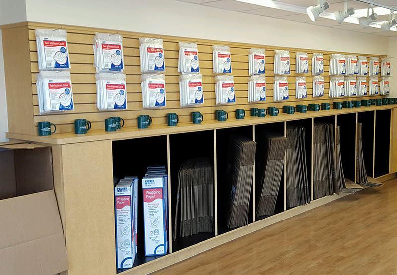 Moving supplies at Self Storage Zone in Lanham