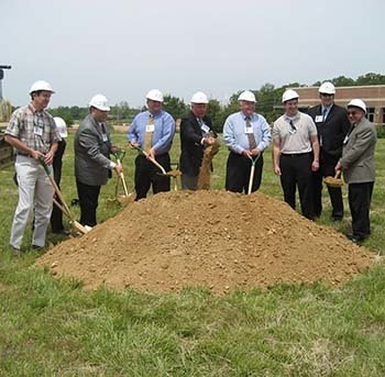 Silver Companies groundbreaking event.