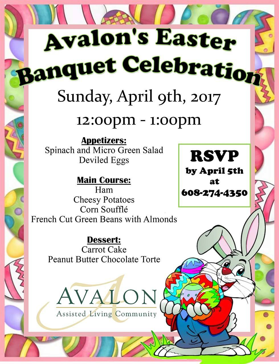 Join us for our Easter Banquet