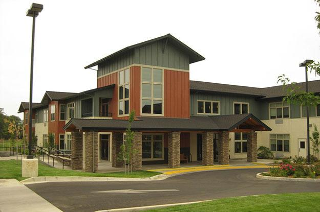 Front entry at The Vistas Assisted Living and Memory Care