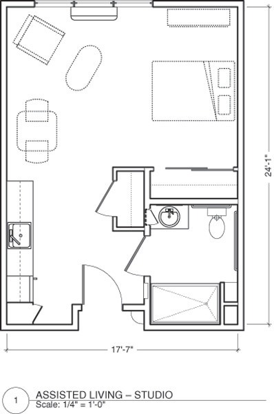 Senior Living Floor Plans The Vistas Assisted Living And Memory Care