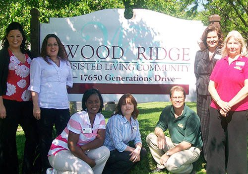 Welcome home to Wood Ridge Assisted Living.