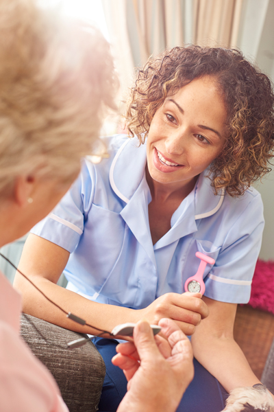 Another key element of Maplewood at Home's services is companionship; we have a passion for assisting seniors and providing a smiling face as we help them throughout their day.