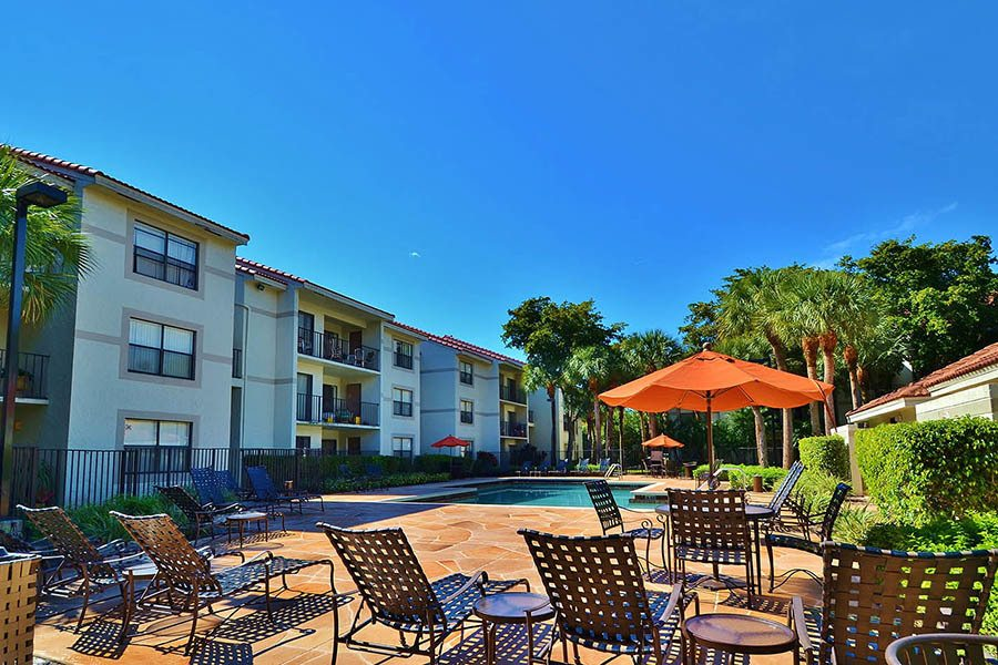 Exterior at Ashley Lake Park Apartments in Boynton Beach