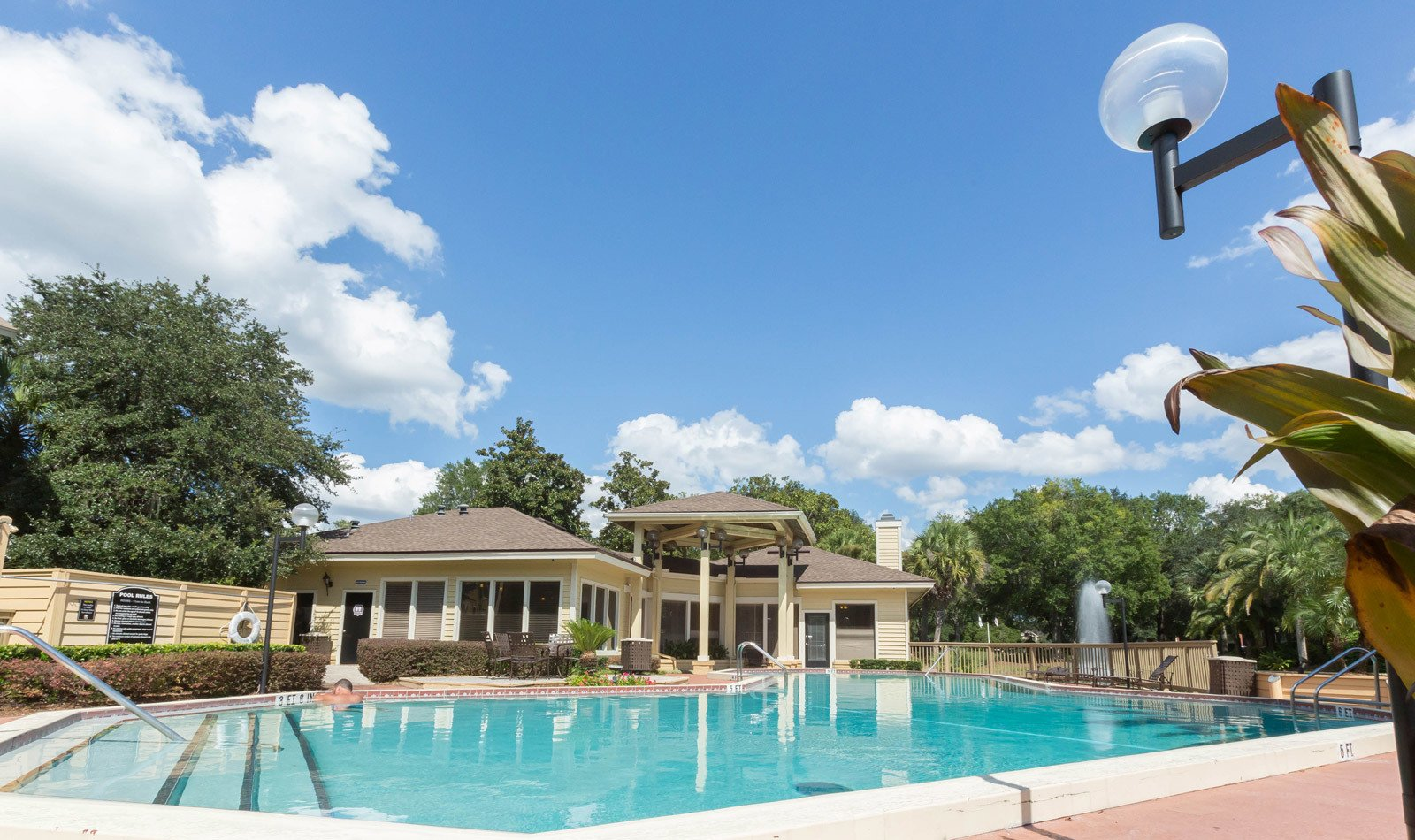 Sparkling Pool at Autumn Cove in Orange Park