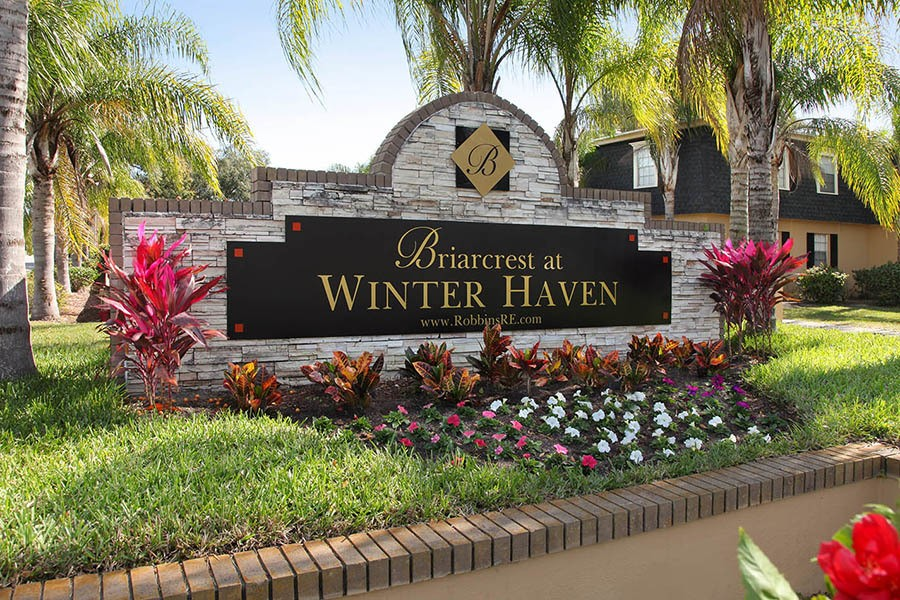 Signage at Briarcrest at Winter Haven in Winter Haven
