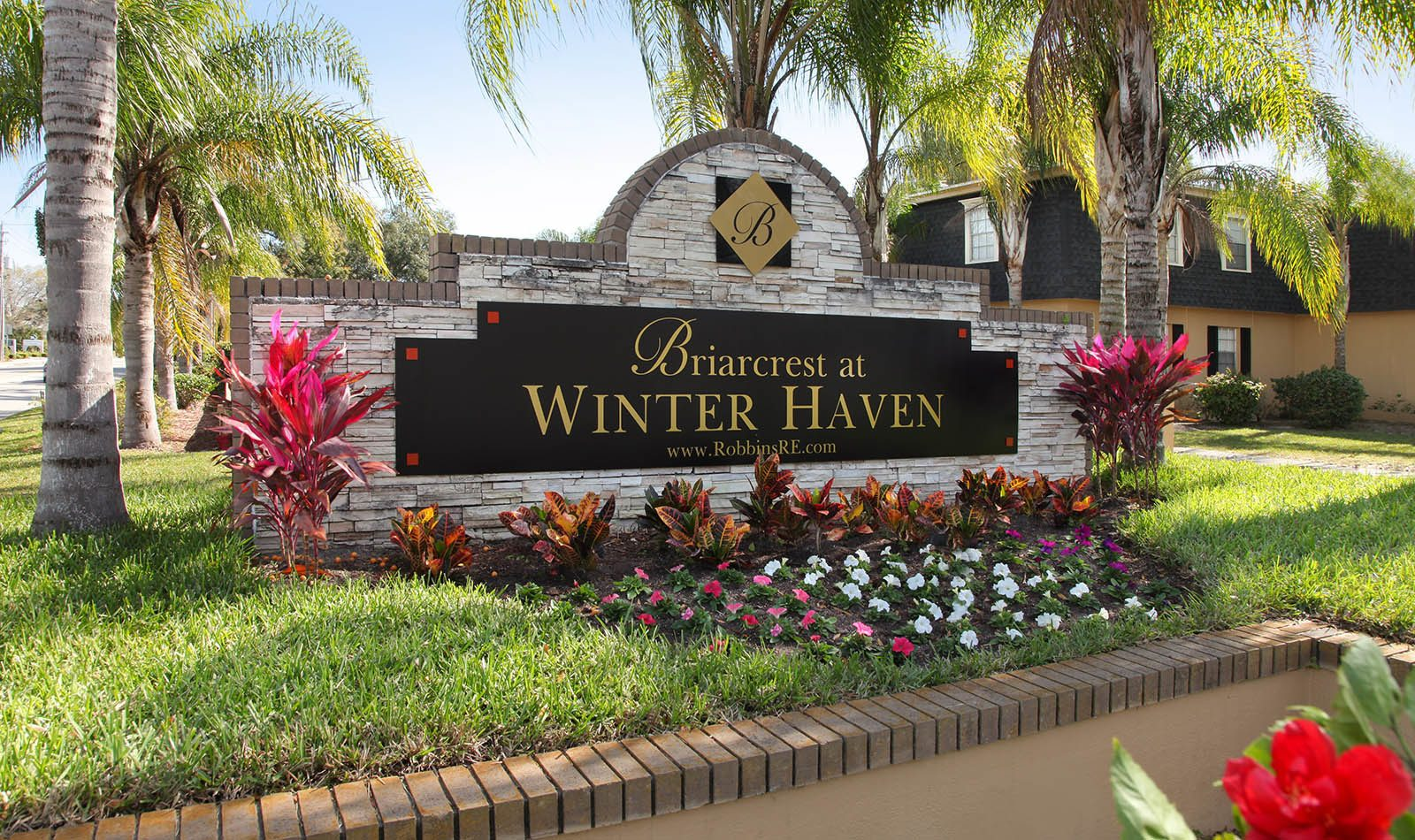 Signage at Briarcrest at Winter Haven in Winter Haven, FL