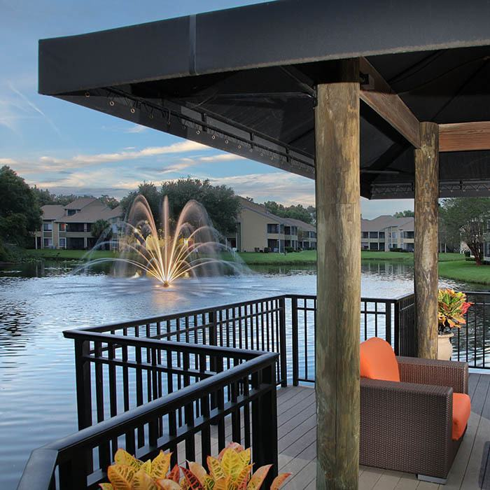 Lakes of Northdale Apartments offers an impressive list of features and amenities in Tampa