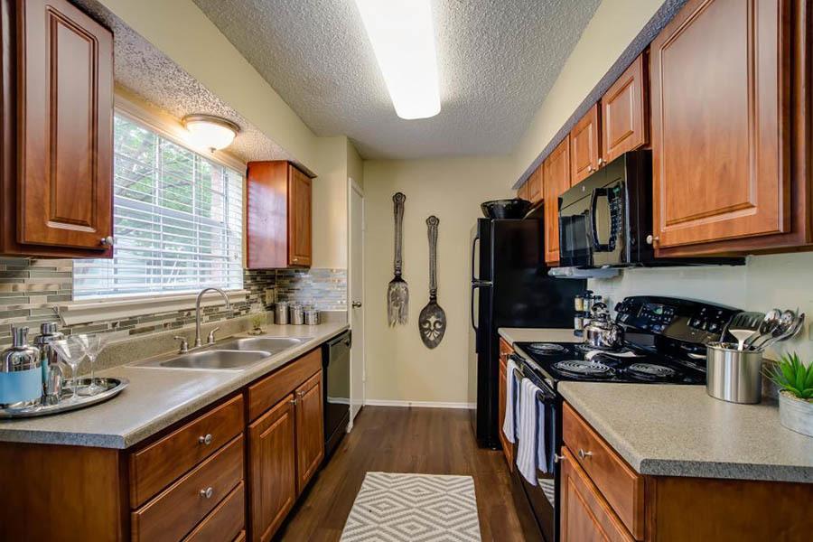 Updated Kitchen at Landmark at Amelia Ridge in Round Rock
