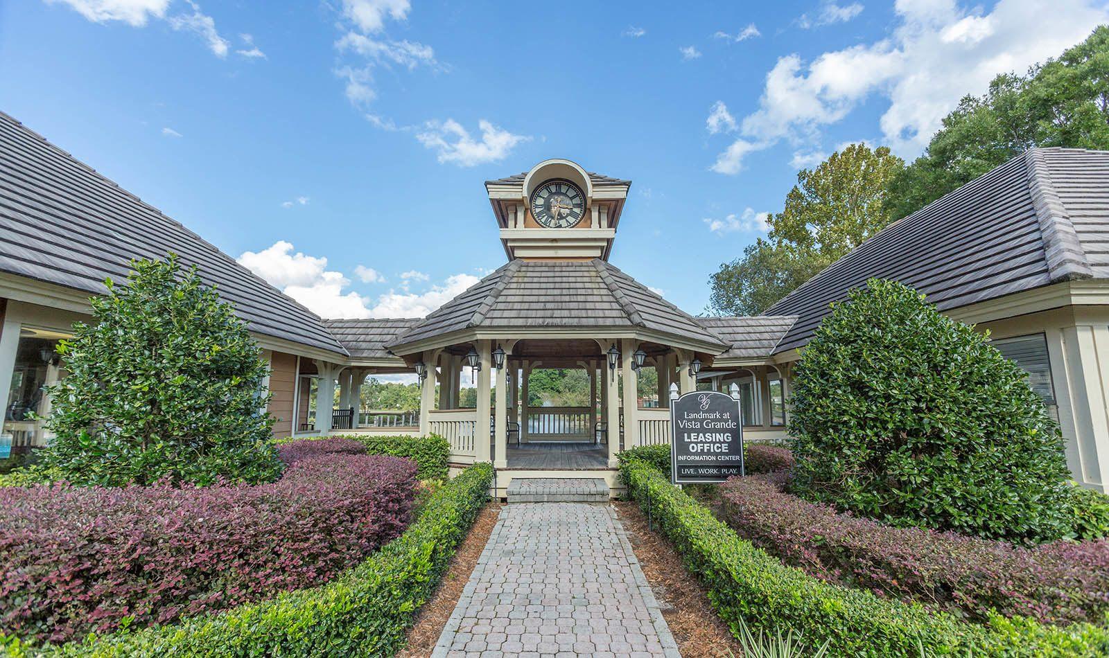 Leasing office at Vista Grande in Orange Park, FL