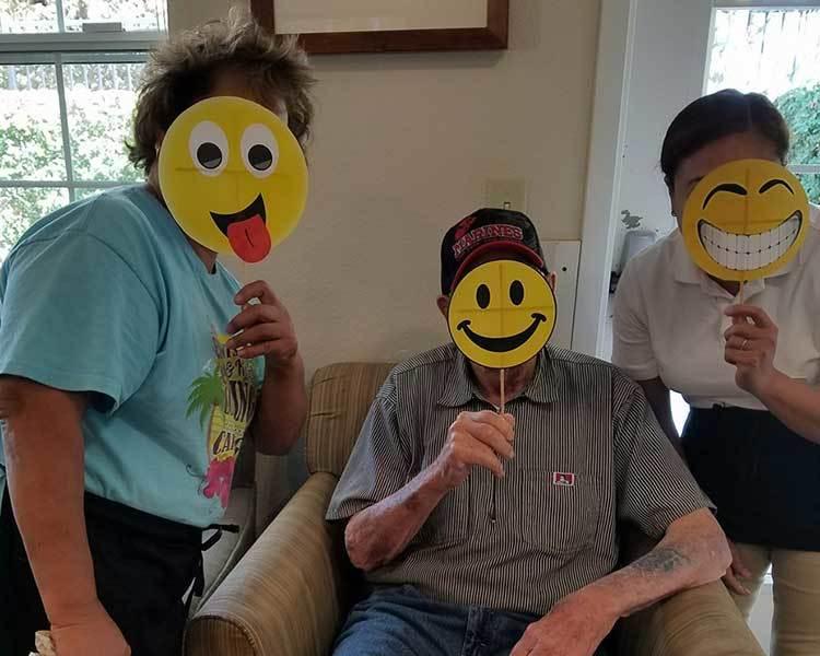 Happy at Sun Oak Senior Living