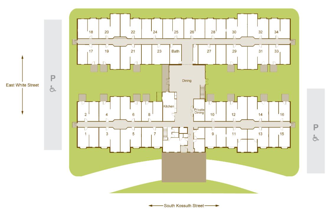 Community layout