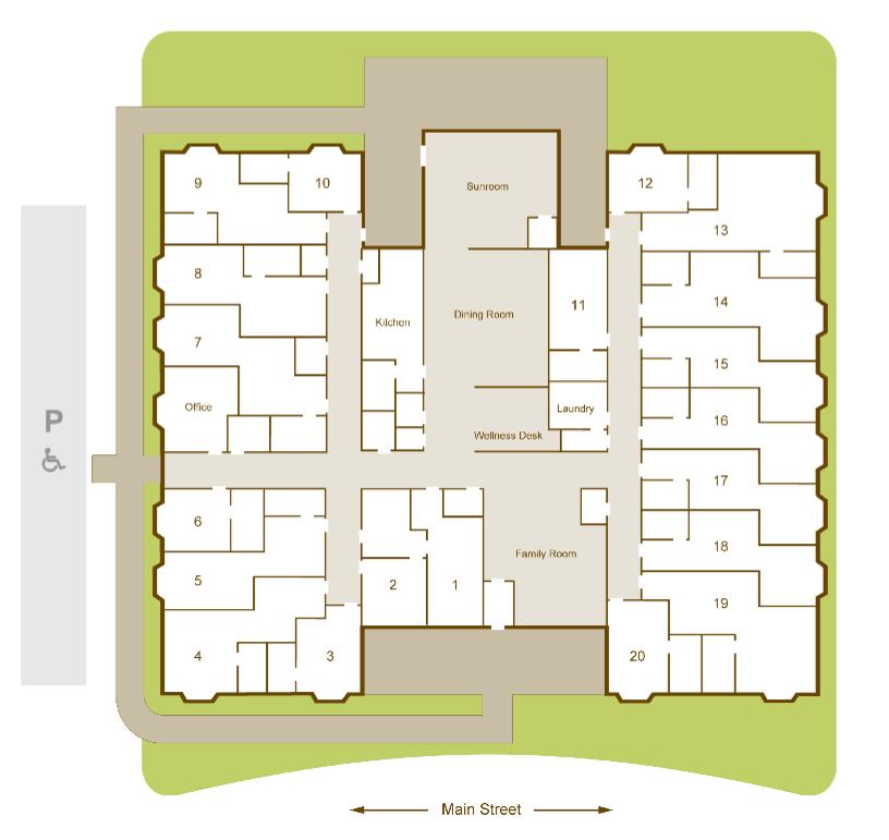 reflections community layout