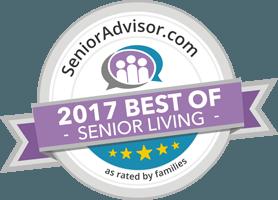 Wyndemere Assisted Living got 2017 best of senior living award