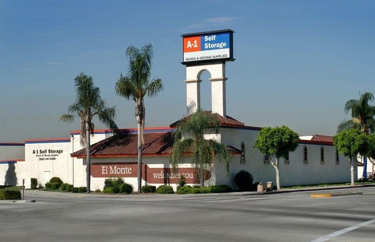 A-1 Self Storage facility located on  El Monte.