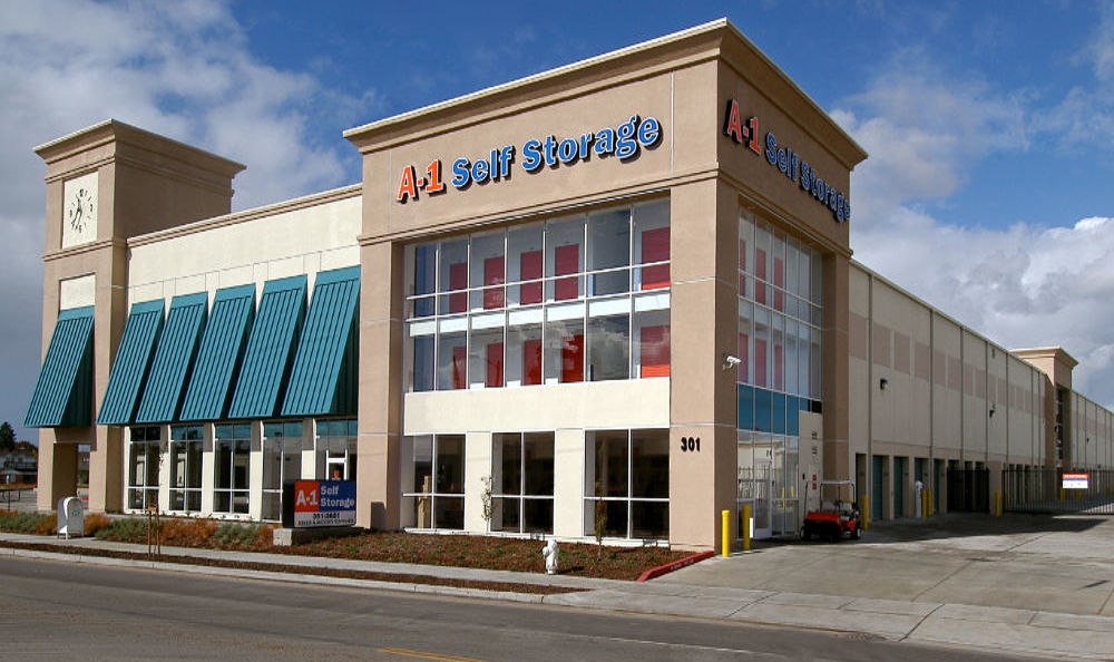 A-1 Self Storage location on 301 High Street.