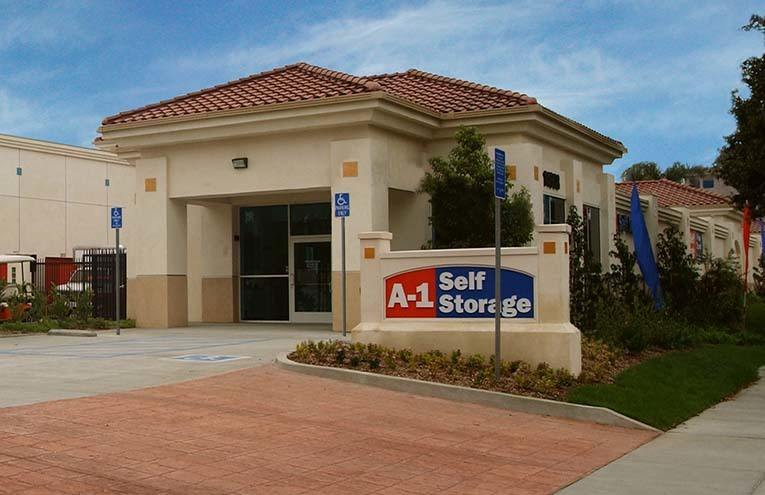 A-1 Self Storage facility located on Paramount.