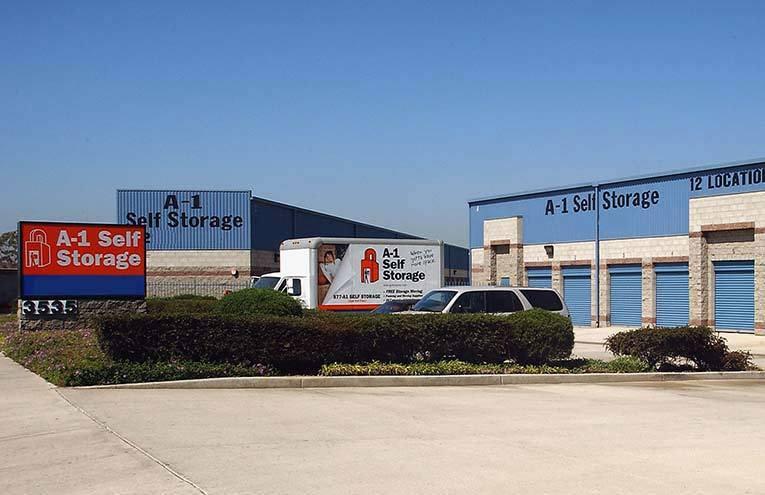 A-1 Self Storage located on Anaheim