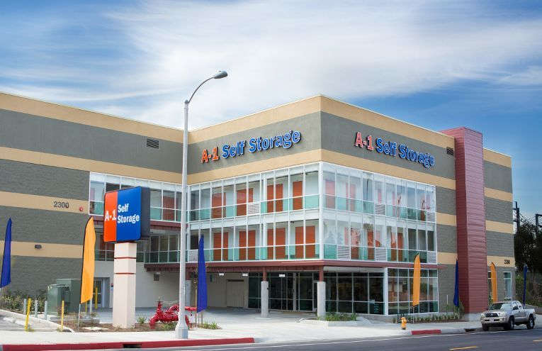 A-1 Self Storage facility located on Alhambra.