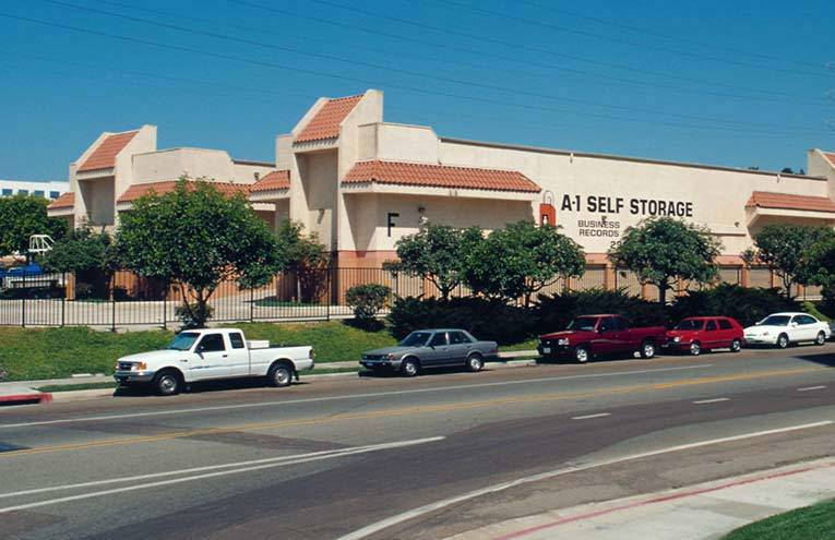 A-1 Self Storage in San Diego - Fashion Valley.