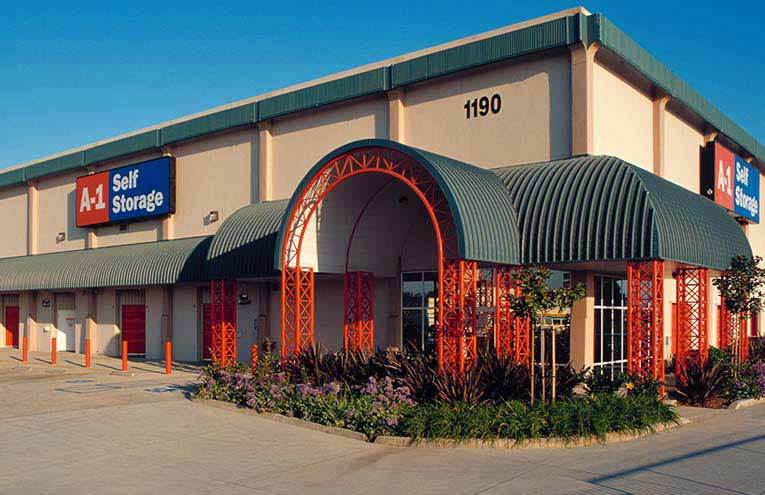 A-1 Self Storage located on San Diego - Morena.