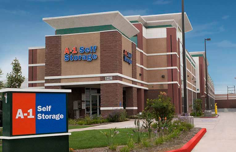 A-1 Self Storage facility located on Garfield Ave.