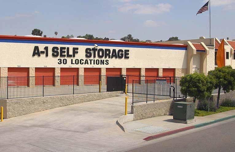 A-1 Self Storage facility located on Alvarado Canyon Rd.