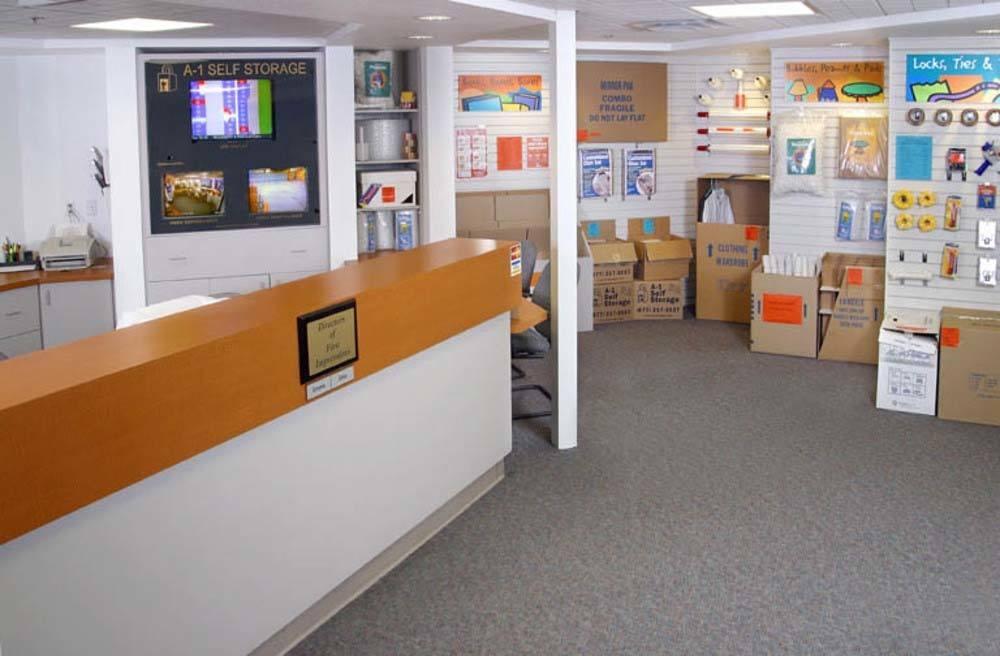 self storage office