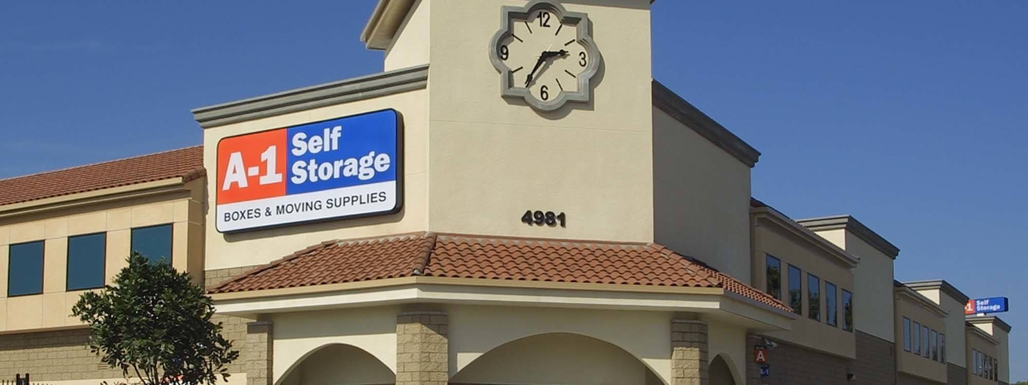 Self Storage Greater Village La Mesa, California  A1