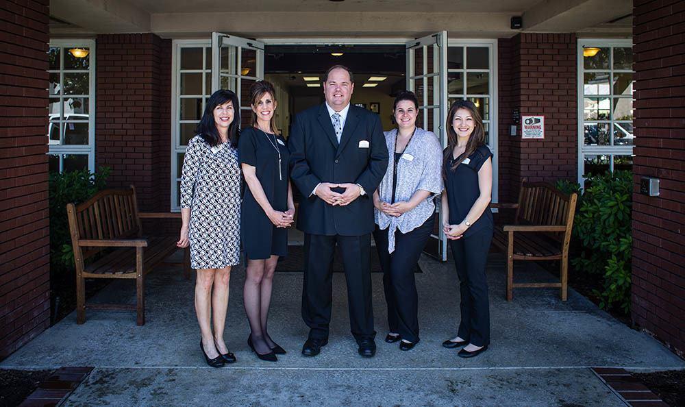 Friendly staff at Carmel Village