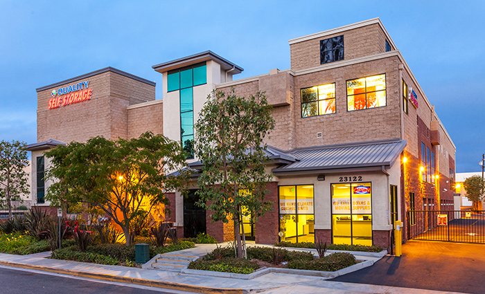 Visit our Lake Forest self storage location's website.