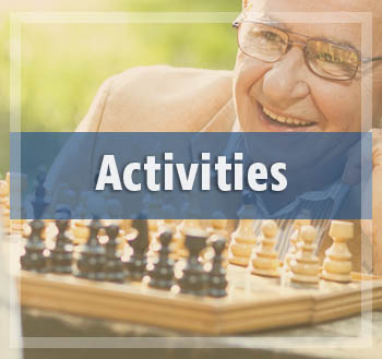 Enjoy all the fun activities at Sunnyside Meadows Memory Care