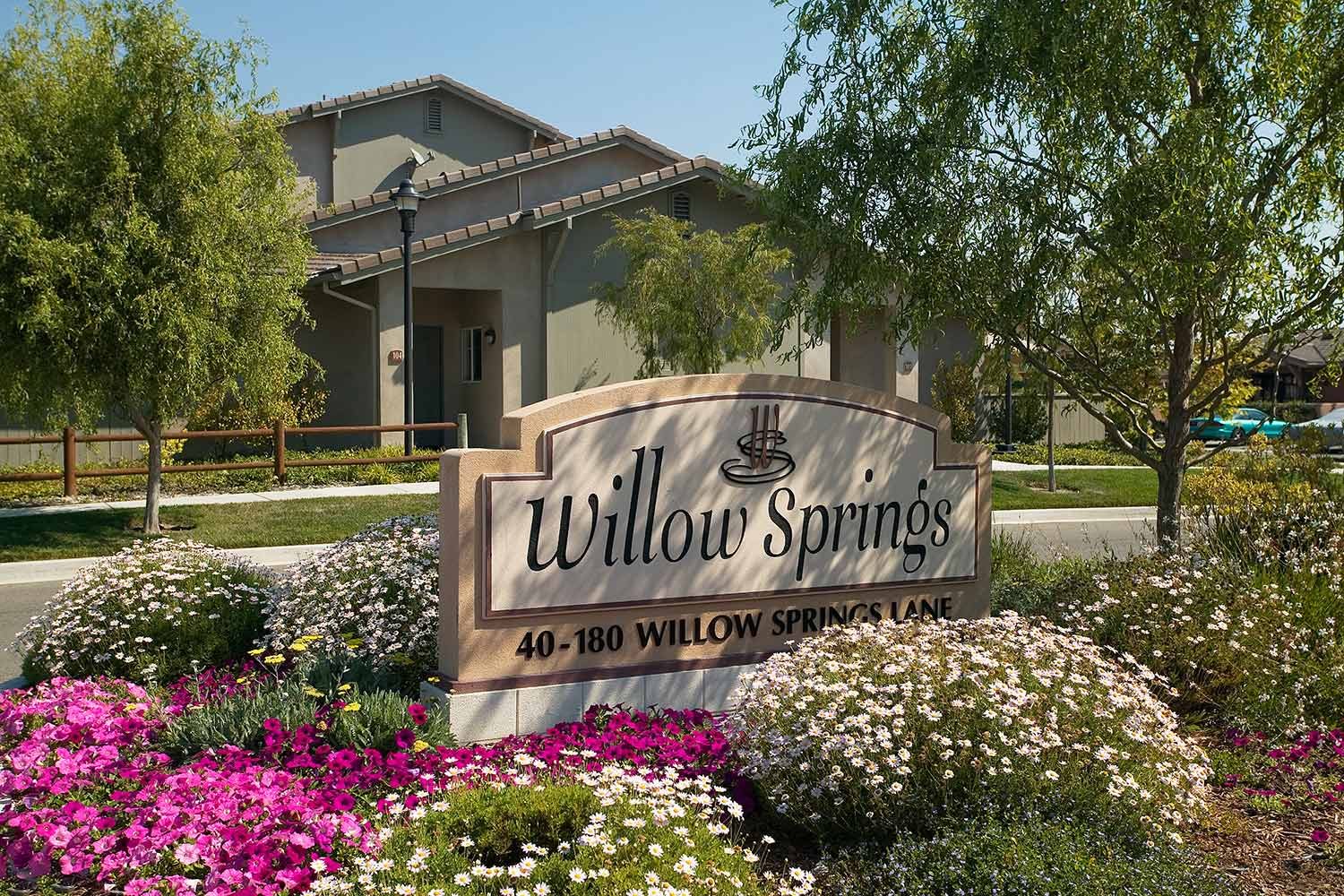 Signage at Willow Springs Apartments in Goleta, CA