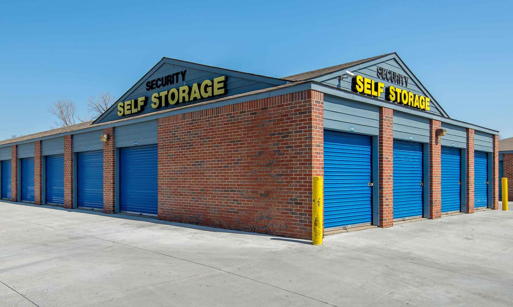 Self storage in Shawnee KS