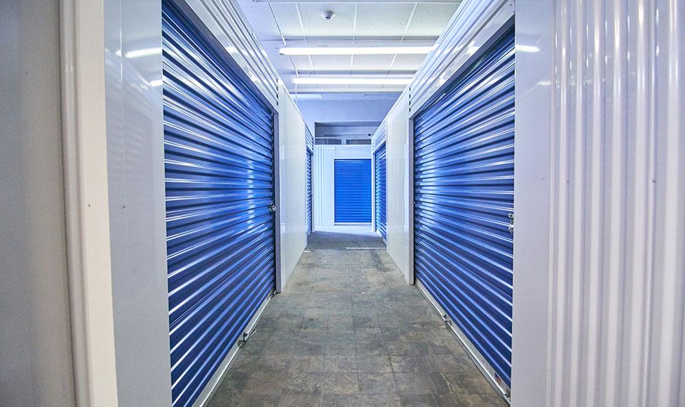 United Stor-All Central Denver Self Storage facility interior