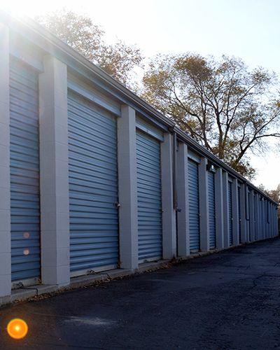 Towne Storage exterior storage units in Sandy