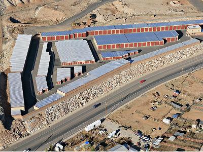 Aerial view of Towne Storage in Washington, UT