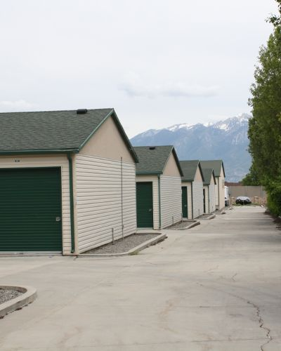 Exterior view of our units at Towne Storage