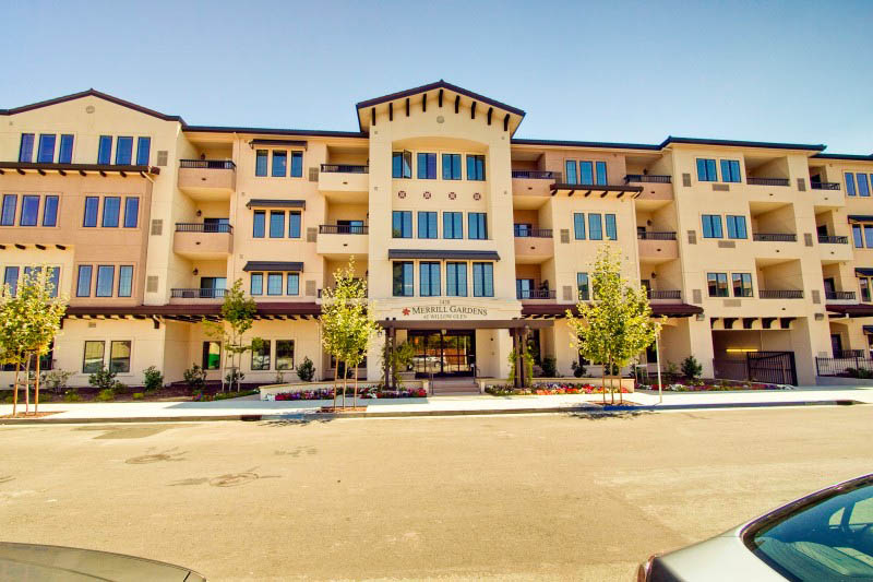 Exterior at senior living in San Jose, CA