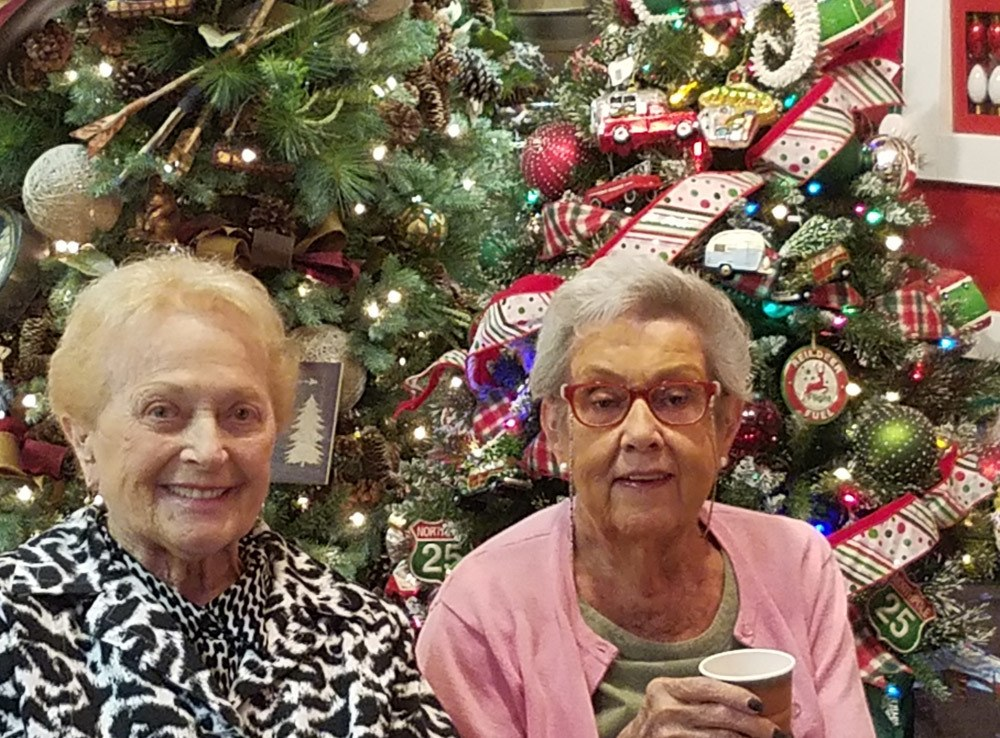 Residents enjoying the Holidays at Merrill Gardens at Green Valley Ranch