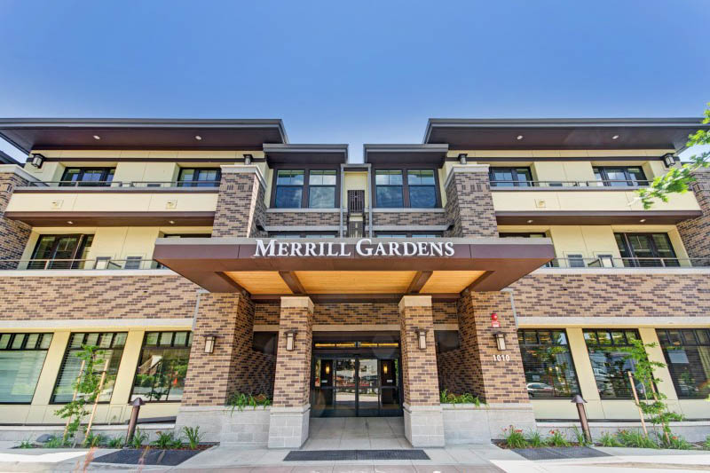 Exterior at Merrill Gardens at Lafayette in Lafayette, CA