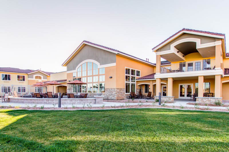 Lawn at The Groves, A Merrill Gardens Community in Goodyear, AZ